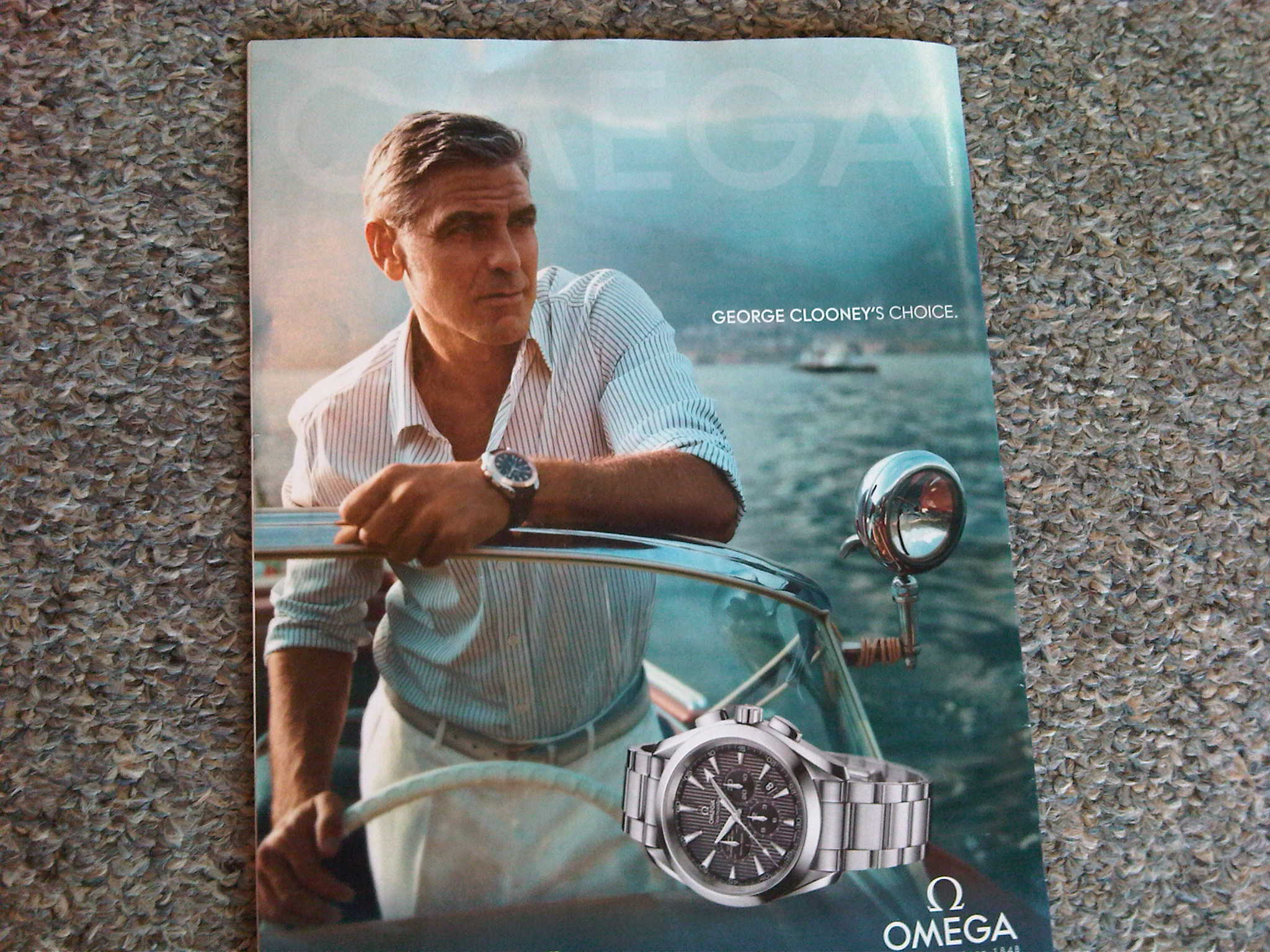 Nice New Advert For Omega Watches And George Clooney